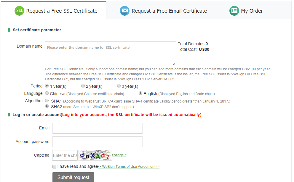 Buy Guide Payment Guide Wosign Ssl Certificates