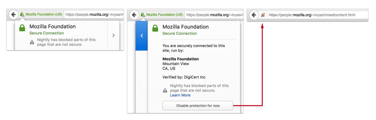 Firefox HTTPS安全标识