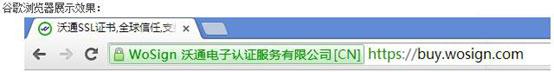 沃通ssl证书作用