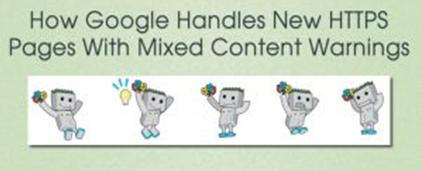 谷歌如何处理带有混合内容警告的HTTPS页面