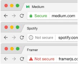 谷歌浏览器HTTPS安全提示2