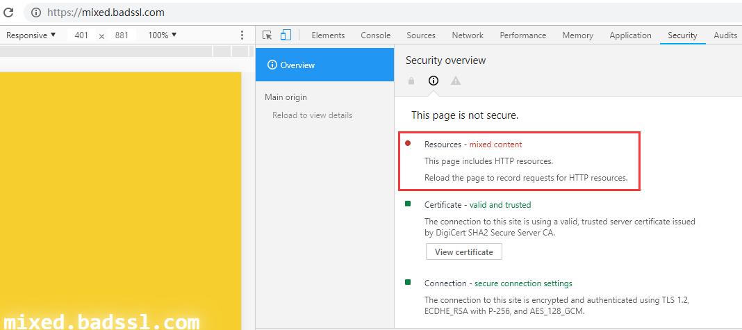 谷歌Chrome开展实验,解决HTTPS不安全因素错误