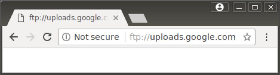 谷歌Chrome显示HTTP安全警告