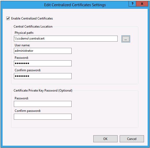 IIS 8 0 Centralized SSL Certificate Support: SSL Scalability