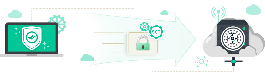 All issued SSL certificate is logged in Google Log server and other third party logs with embedded SCT data in the SSL certificate.